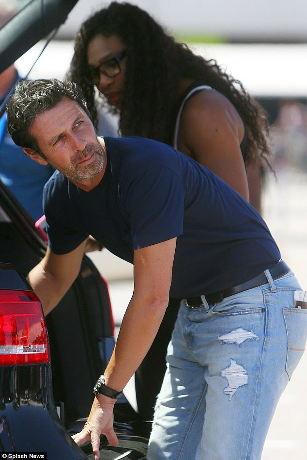 Serena Williams Steps Out With Her Boyfriend Patrick ... | 634 x 949 jpeg 100kB